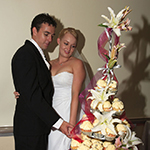 Wedding Cake at Kantilla's Function Centre