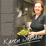 Feature on Karen Sheldon in Territory Q Magazine