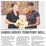 Alice Springs Future Stars Graduates in the Centralian Advocate
