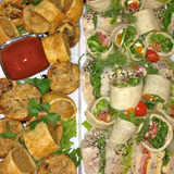 Hot and Cold Luncheon Platters